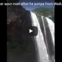 Man makes illegal, nearly 200 ft jump off Wailua Falls, almost dies, calls it 'spiritual'