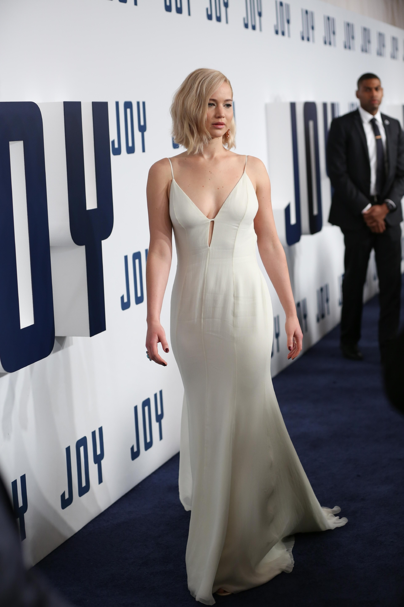 New York premiere of 'Joy' at the Ziegfeld Theater - Arrivals  Featuring: Jennifer Lawrence Where: New York, United States When: 13 Dec 2015 Credit: Andres Otero/WENN.com