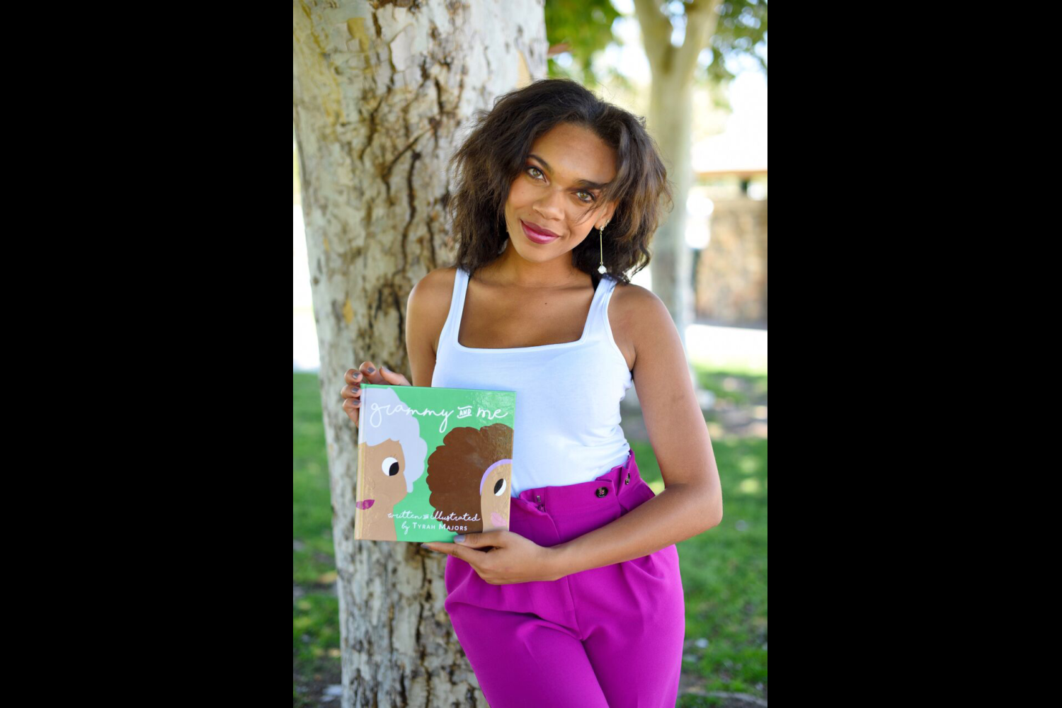 Tyrah Majors is the author and illustrator of 'Grammy and Me' (Image: Tyrah Majors)