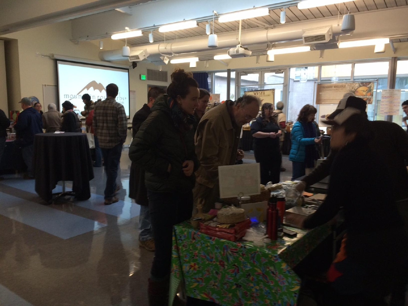 Fermented food fans gathered at Lane Community College Saturday, Jan. 14, 2017 for the annual festival. Participants tasted some of the latest local creations and learned about the fermentation process. (SBG photo)