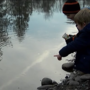 Elementary school students release 200 salmon into the Rogue River