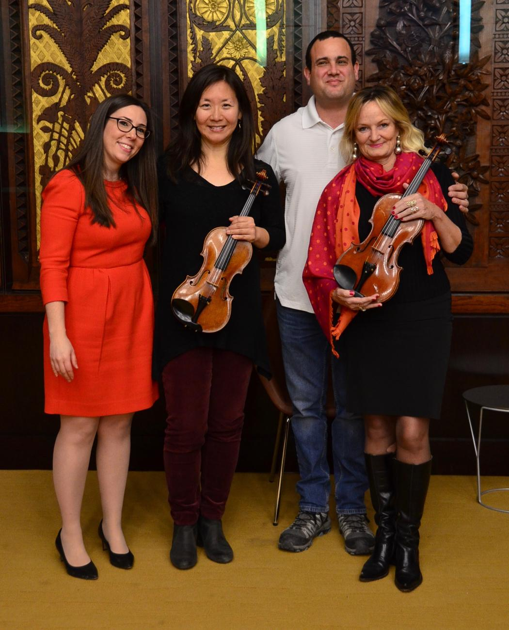 Sarah Weiss, Sujean Kim, Avshalom Weinstein, and Heidi Yenny / Image: Leah Zipperstein, Cincinnati Refined // Published: 1.21.18