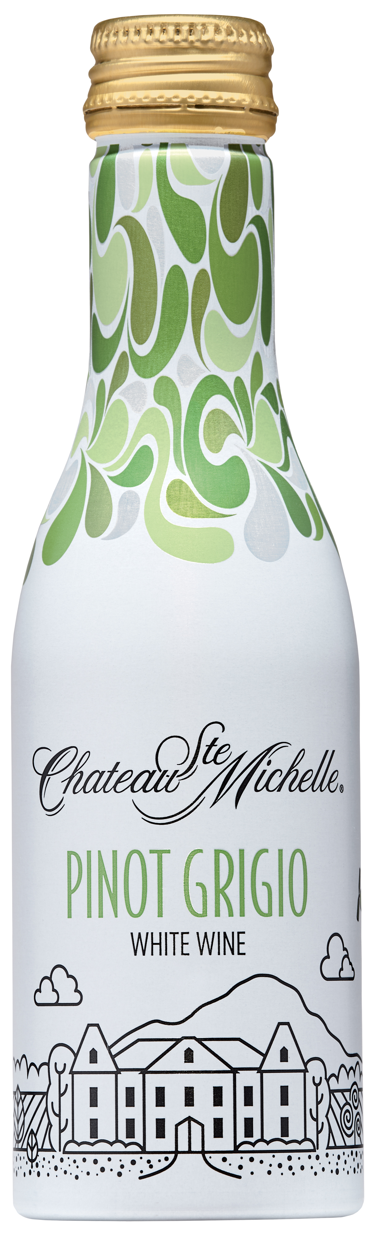 Chateau Ste. Michelle Aluminum Bottles - Pinot Grigio (Image: Courtesy of{ }Chateau Ste. Michelle Winery)