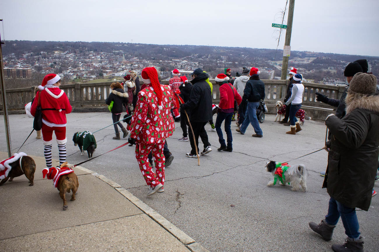The Mt. Adams Business Guild put on the event along with Pet Valu and other sponsors. The parade has been a tradition for over 20 years, with all of the proceeds benefiting the SPCA Cincinnati. Dogs from their shelter were at the event to be adopted on site. / Image: Katie Robinson, Cincinnati Refined // Published: 12.9.18