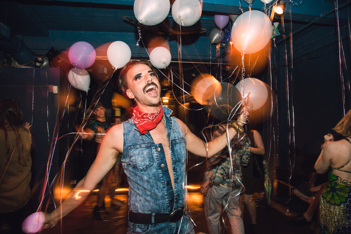 "Saturday (Sept. 5), Northside Yacht Club celebrated the birthday of Freddie Mercury, legendary Queen frontman, with the fittingly raucous ""Freddie Mercury: The Resurrection"" event. [Image: Catherine Viox]"
