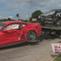1 sent to hospital after two-car collision in Battle Creek