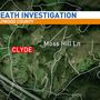 Deputies investigate man's death in Clyde