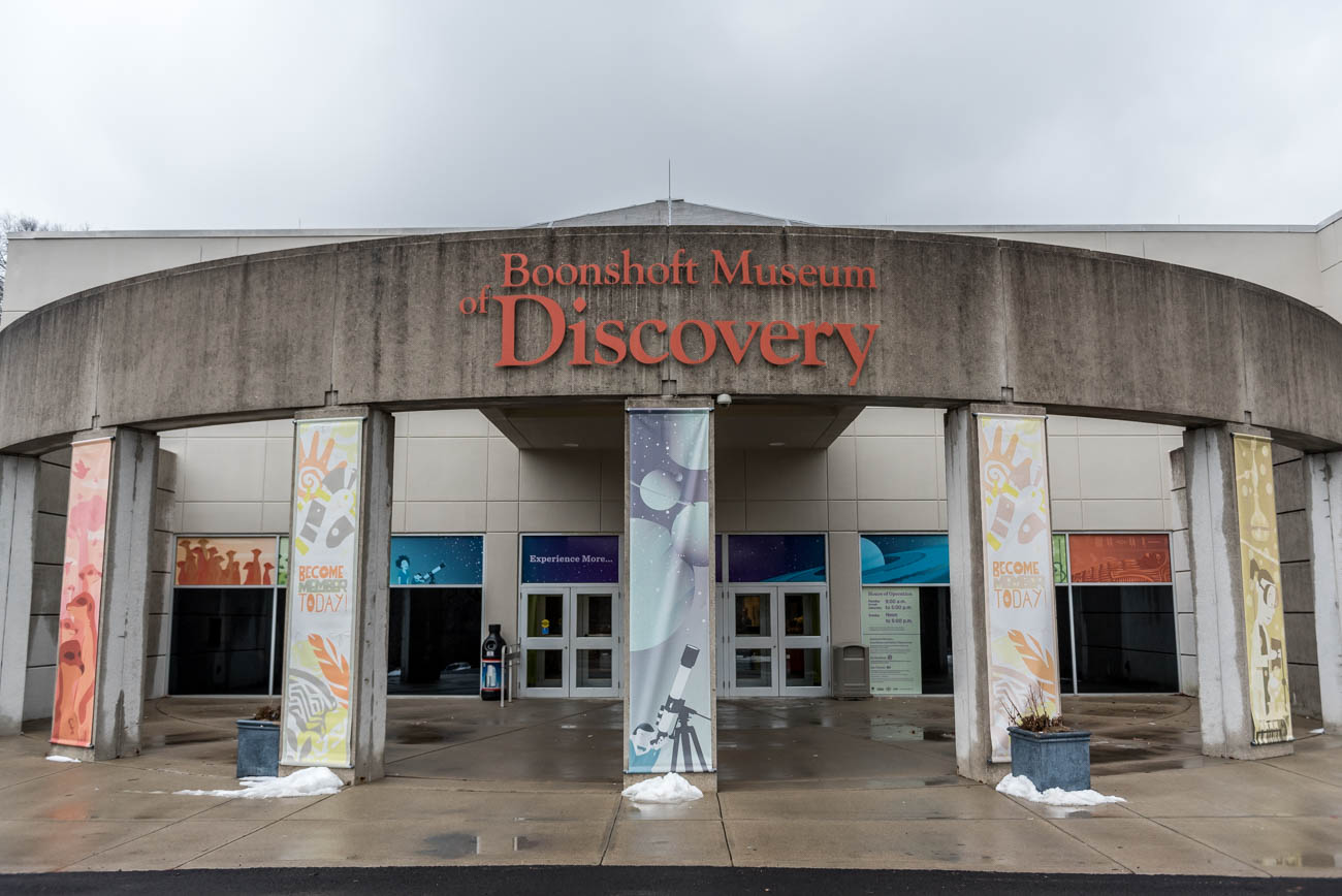 The Boonshoft Museum of Discovery in Dayton, OH is a museum of natural history, science, and interactive learning. In addition to its several different collection exhibits, it houses live animals that are commonly found in the state of Ohio, such as otters and foxes. While the museum is friendly for all ages, children find it especially engaging with its myriad features designed around youth-level education. It is located 56 miles north of Cincinnati at 2600 DeWeese Pkwy, Dayton, OH 45414. / Image: Mike Menke // Published: 3.5.18