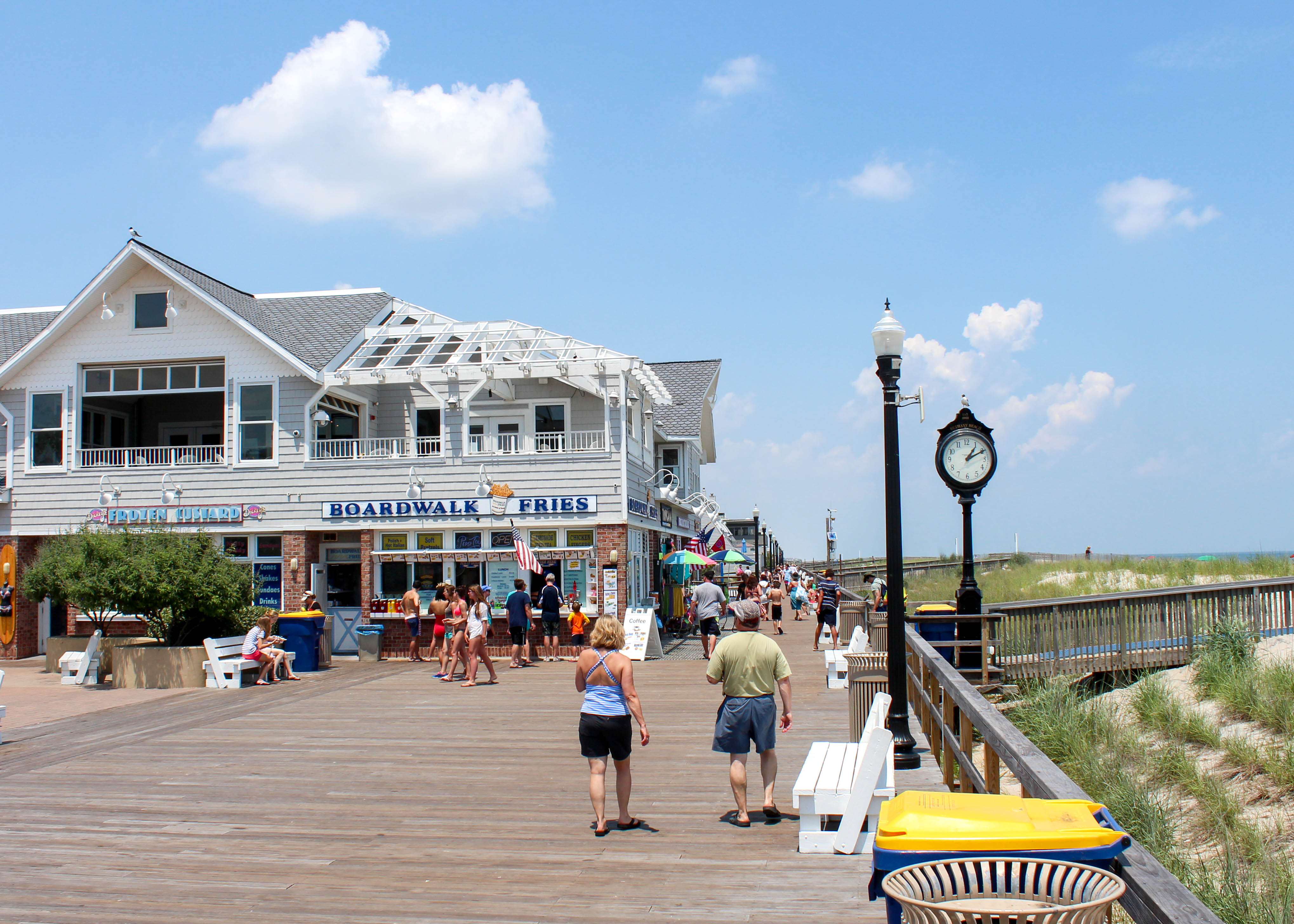 It's a place for wasting away an afternoon by the ocean or an evening on the boardwalk.{ } (Image: Courtesy VisitDelaware.com)