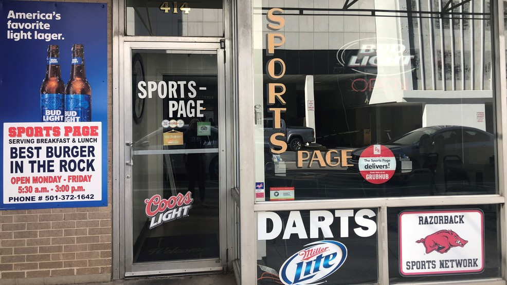 Sports Page in downtown Little Rock closes