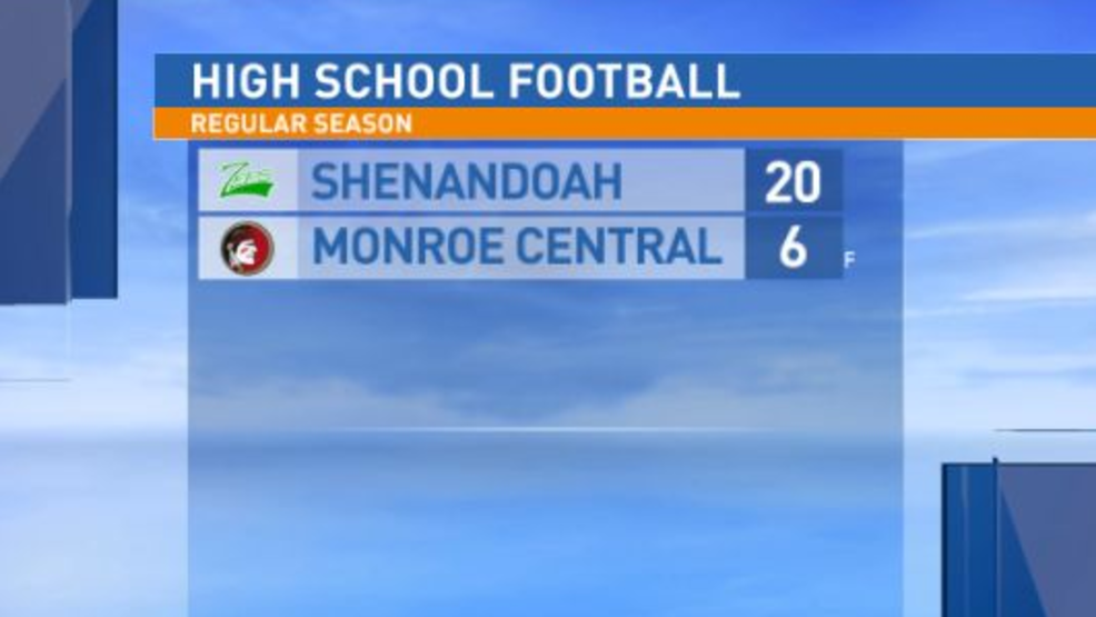 10.11.19 Highlights: Shenandoah at Monroe Central