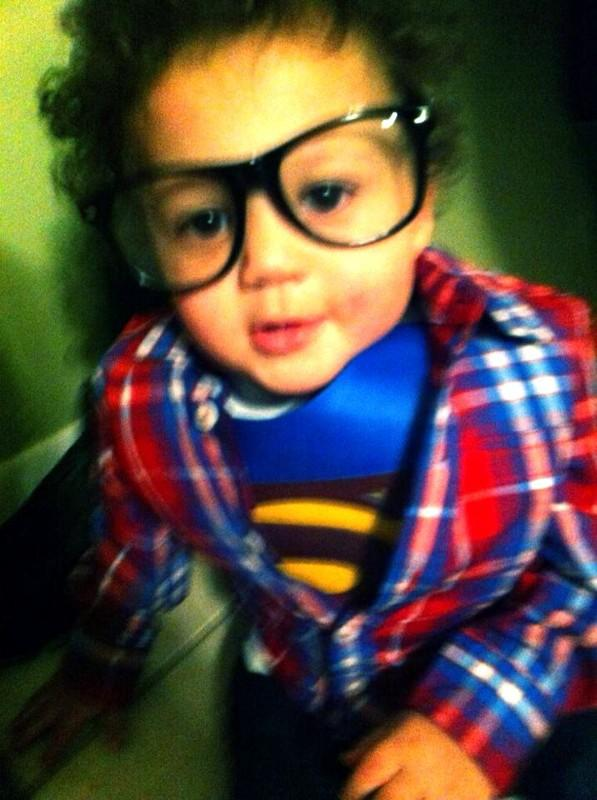 Jordan as Clark Kent superman