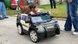 PHOTOS: SAPD officer crafts personalized police cruiser for 3-year-old daughter