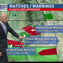 Sunday weather | Flash flood warnings, thunderstorms hit Bakersfield