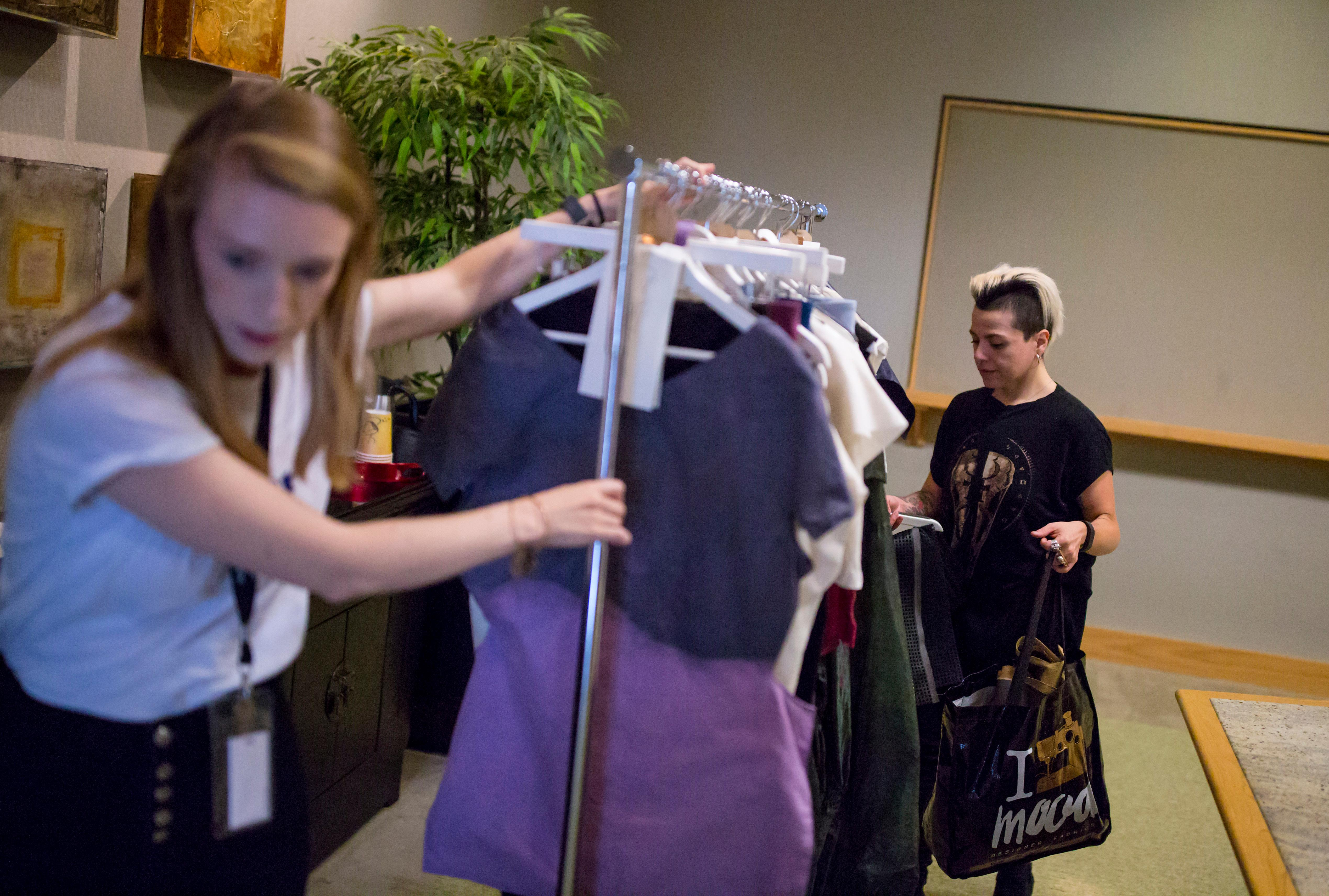 We had full access to the process leading up to the big show from the auditions to the check-ins this year - so we got to see the designers grow their collections literally from cloth pieces to full looks. (Image: Sy Bean / Seattle Refined)