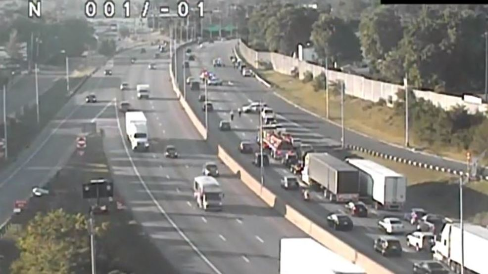 Motorcyclist In Critical Condition I 71 Closed After North Columbus Crash