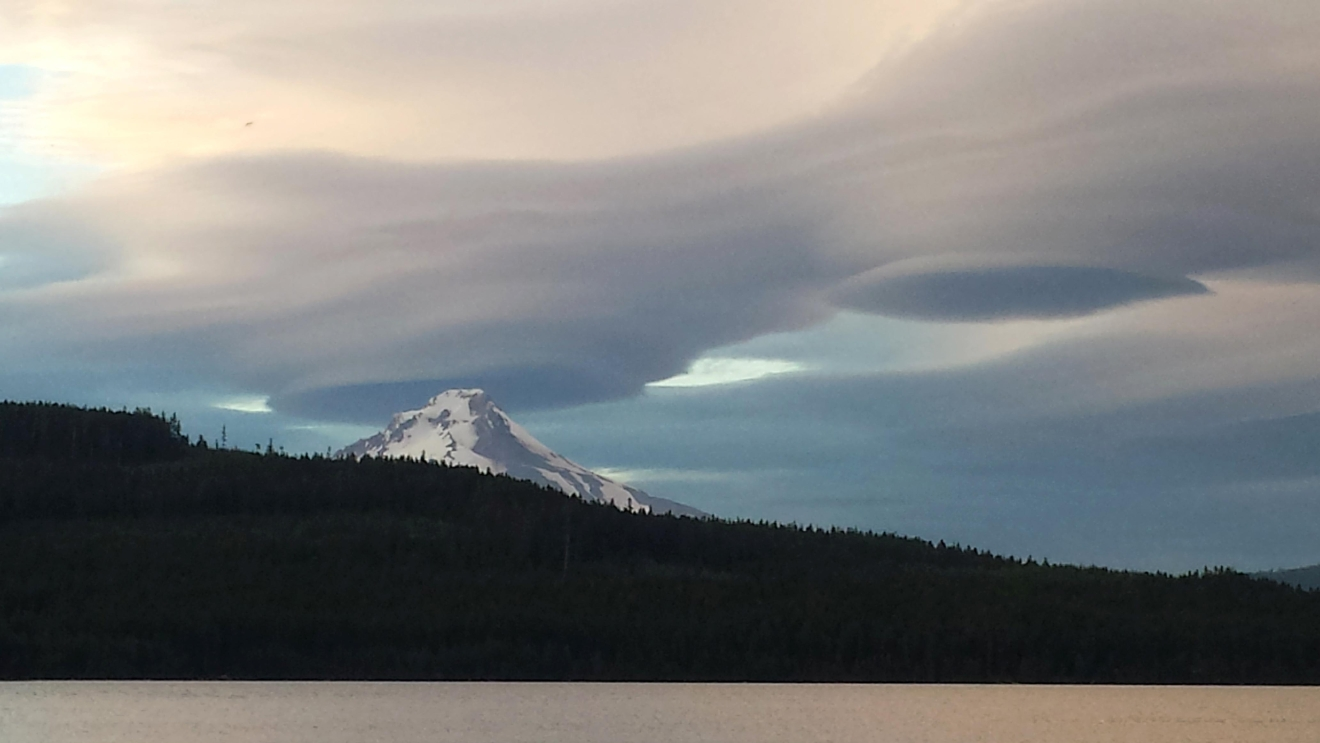 Cloud formations over Timothy Lake (Kristin Classen/CC by 2.0)