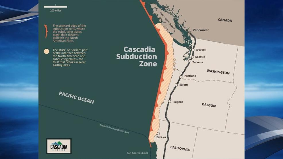 New Study Shows Cascadia Subduction Zone Earthquake Could Injure As