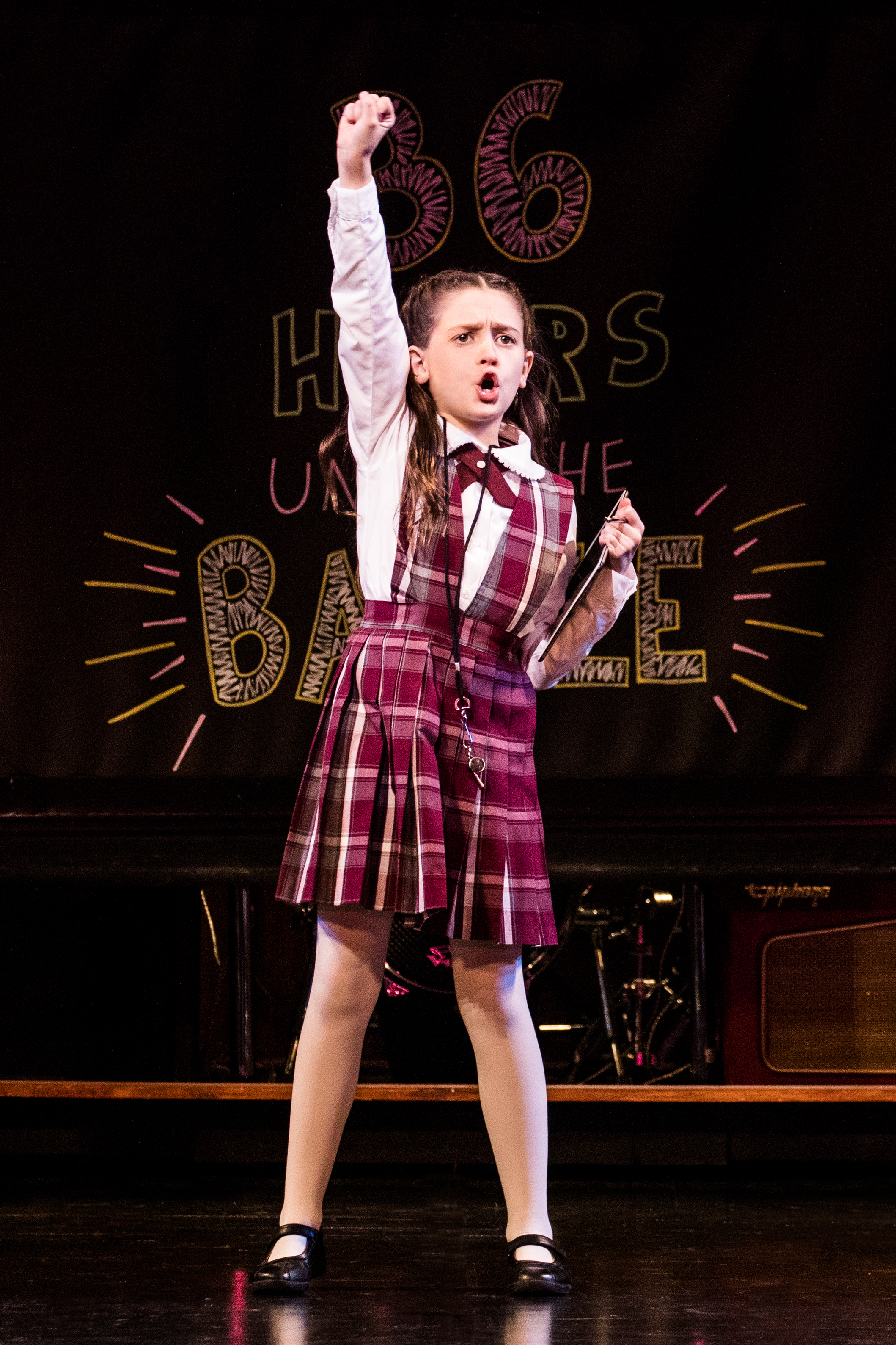 Sami Bray in the School of Rock Tour. (Image:{ } Evan Zimmerman-Murphy)