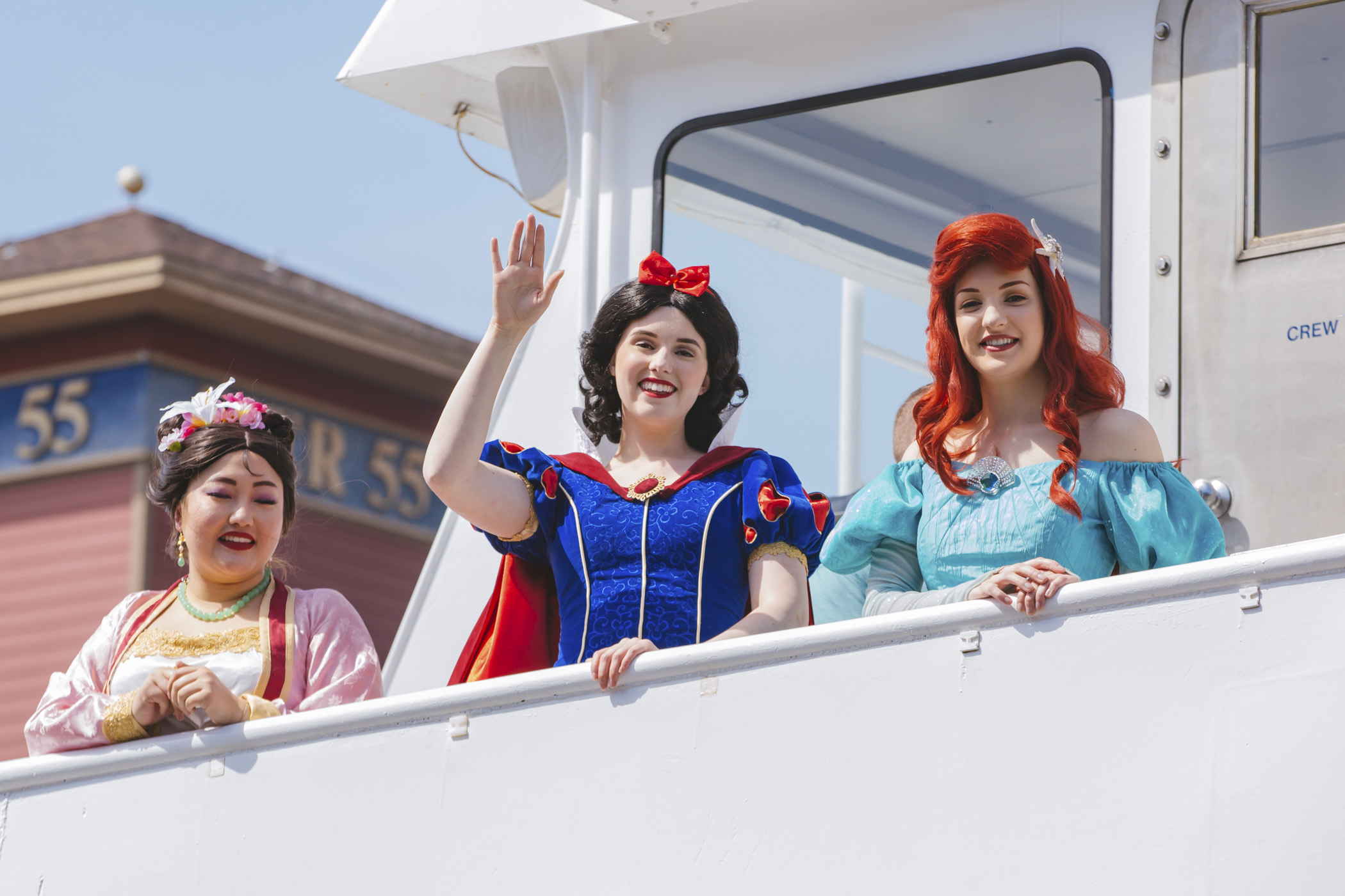 Two hours with over 20+ characters?! Of course we were going to be there! Seattle's Princesses, The Painted Palaces and Argosy Cruises teamed up for a truly unique event on May 4, 2019. On the three different sessions available to the public, 200 guests got to mingle with princesses, enjoy snacks, drinks, entertainment and dancing. (Image: Sunita Martini / Seattle Refined)
