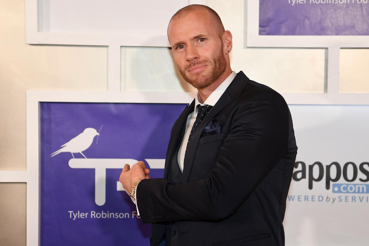 Oliver Trevena appears on the red carpet for the Rise Up Gala, and event created to raise funds for the Tyler Robinson Foundation, Friday, September 6, 2019, at the Wynn. (Sam Morris/Las Vegas News Bureau)
