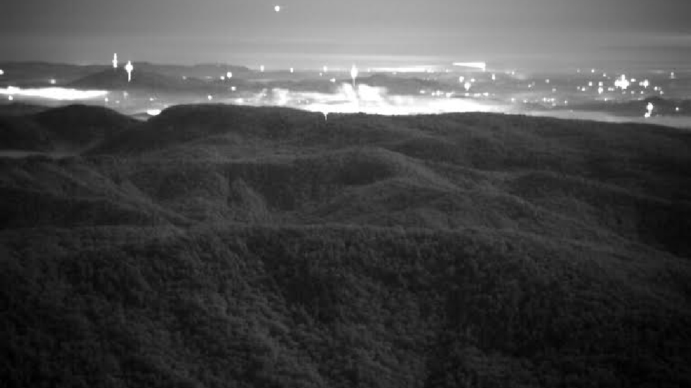 Armstrong State University >> ASU scientists think they've captured images of WNC's unexplained Brown Mountain Lights   WLOS
