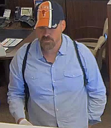 Police are asking for the public's help in identifying a man they say robbed a South Austin bank Wednesday afternoon. (Photo courtesy: Austin Police Department)
