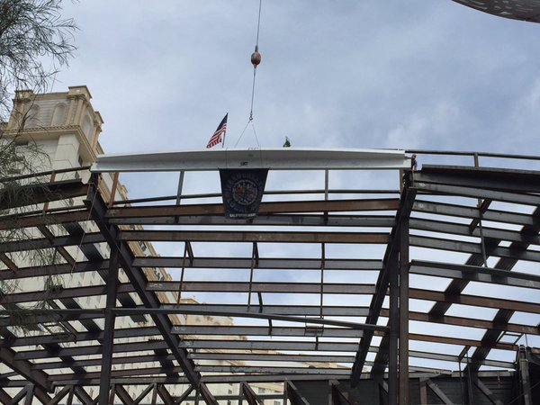 The Park Theatre topping off ceremony (Dominick Lee | KSNV News 3)