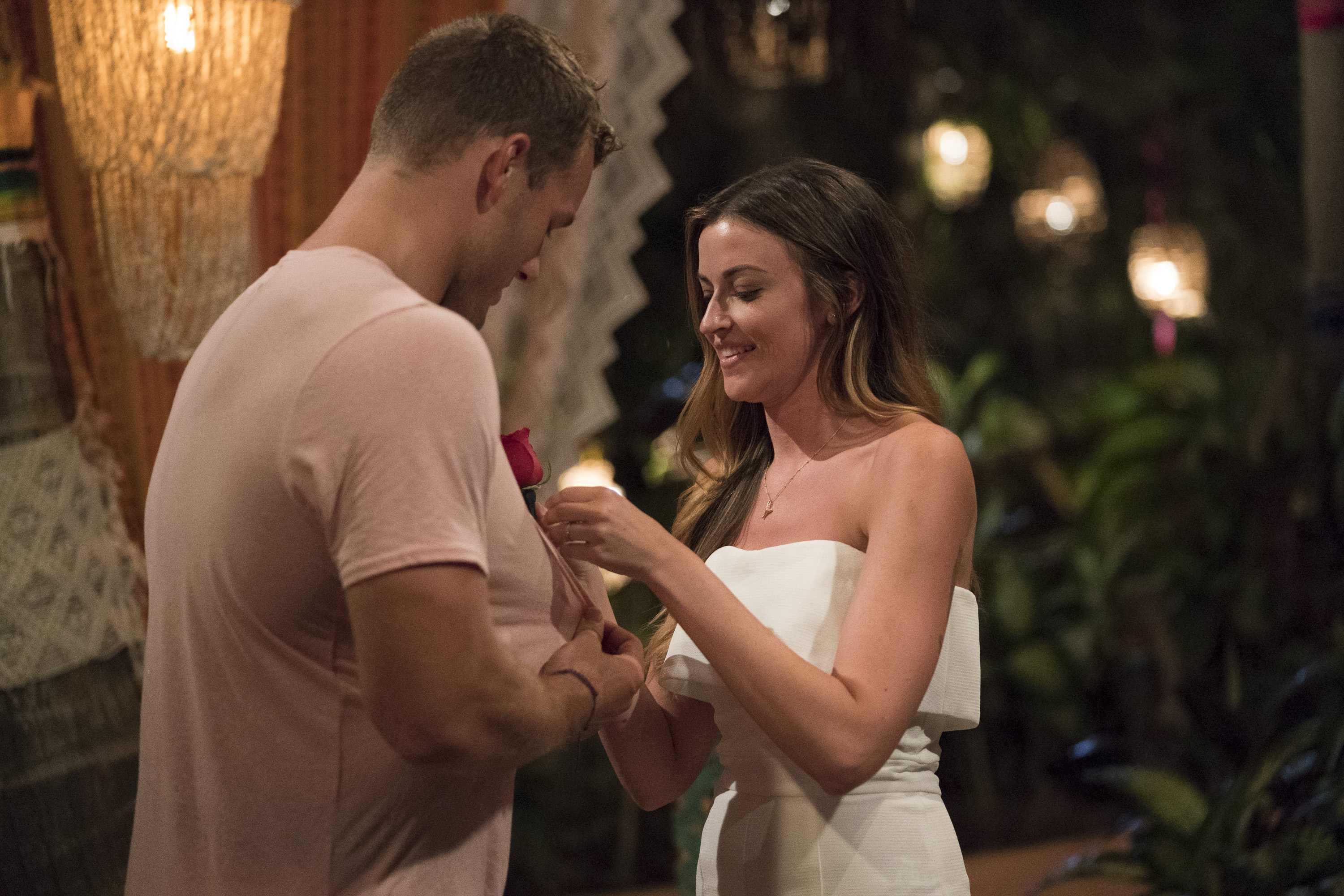"In the end though (aka a few episodes later), Tia and Colton decided they ""owe each other an opportunity"" to give it an honest go.{ } Image: ABC/Paul Hebert)"