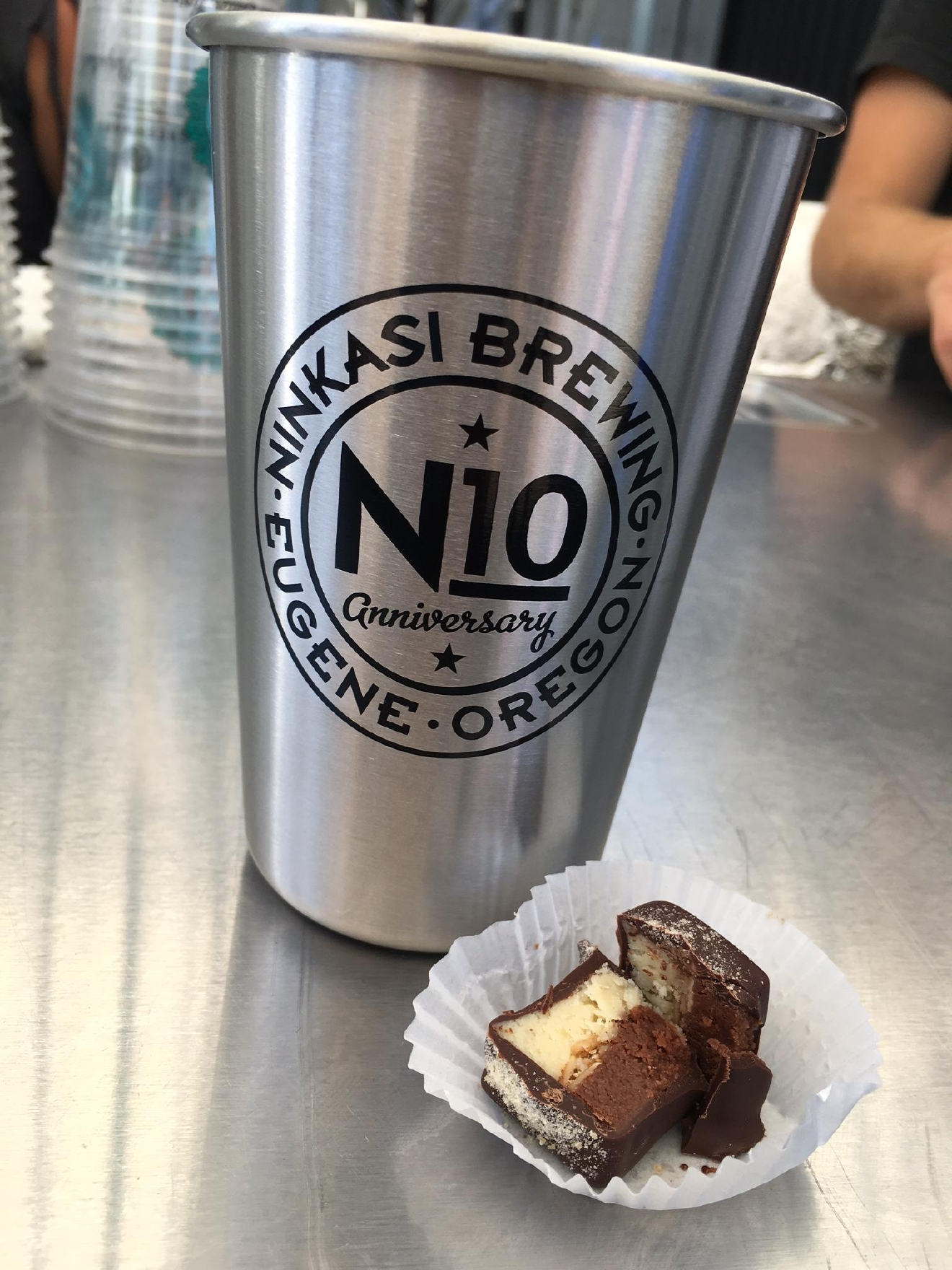 In true Ninkasi fashion, the brewery released a special edition beer called the N10 to celebrate its 10th anniversary. (SBG photo)