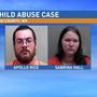 Wheeling couple indicted on 'severe' child abuse charges