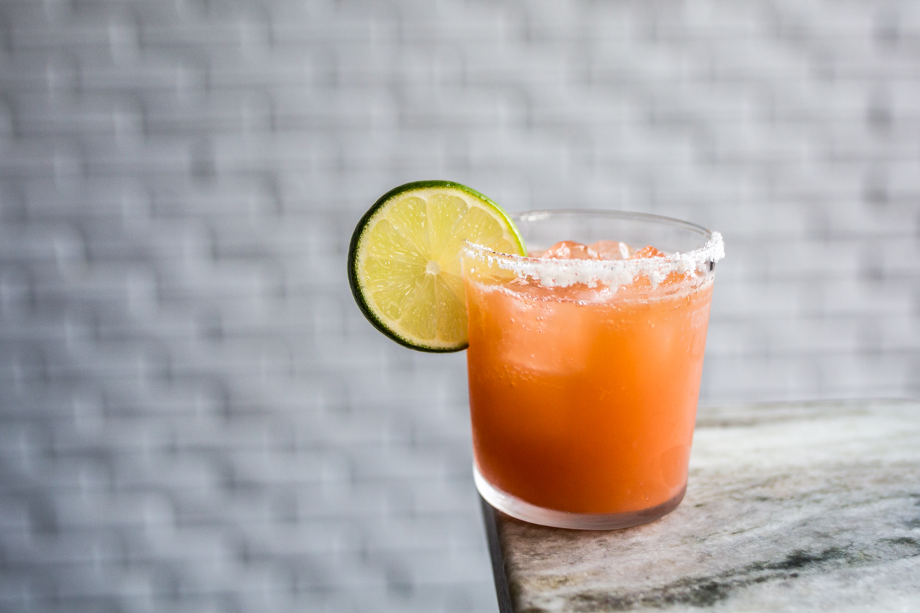 Margarita: anejo tequila, damiana, and citrus / Image: Catherine Viox{ }// Published: 7.12.19