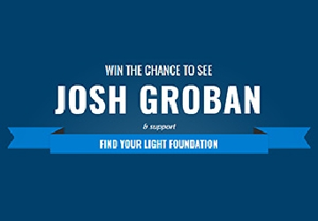 Win the Chance to See Josh Groban!