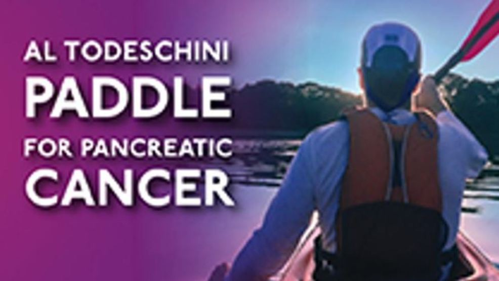 Paddling to fight pancreatic cancer