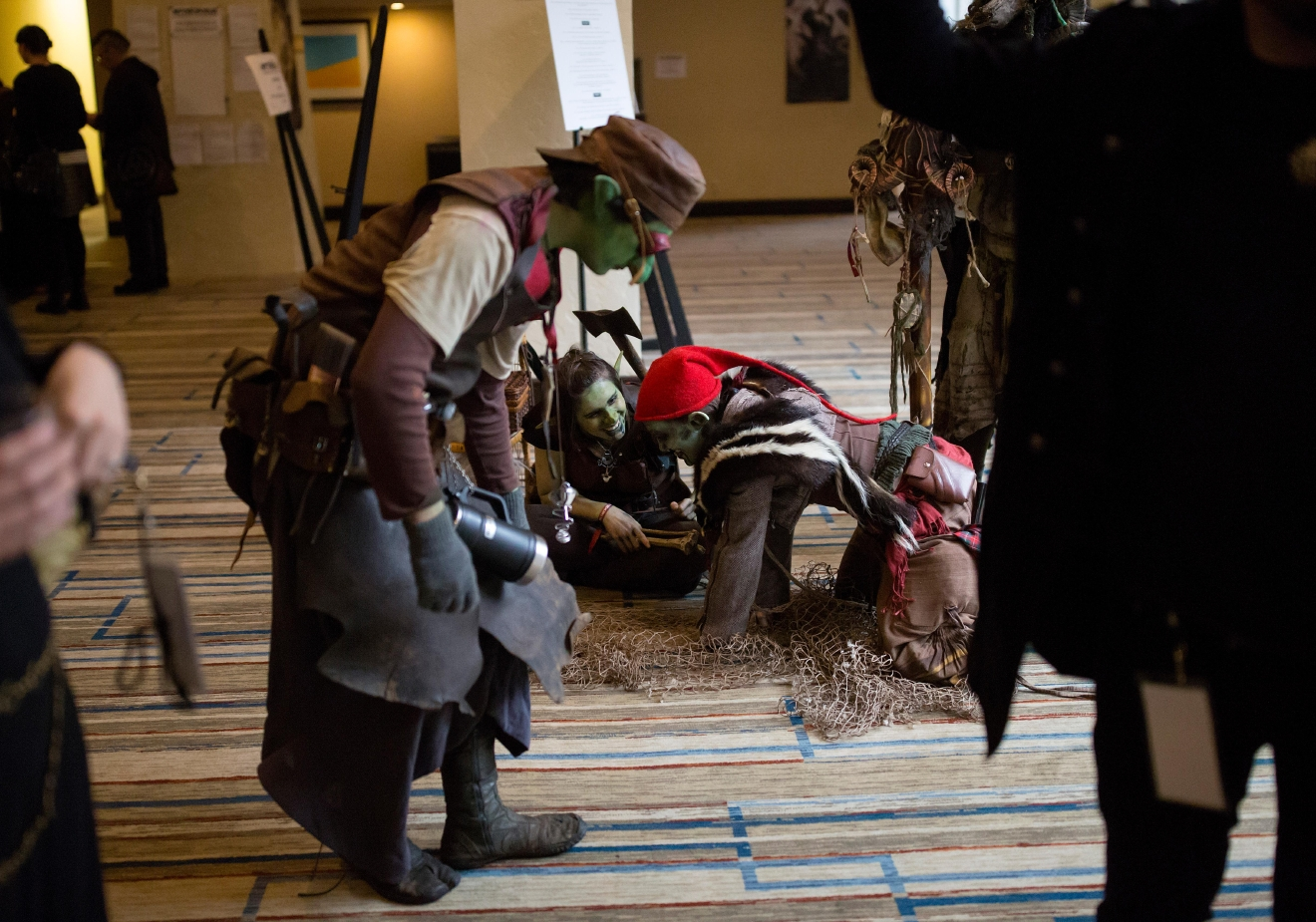 Goblins from Goblin Town perform at Mythicworlds Convention and Masquerades. (Sy Bean / Seattle Refined)