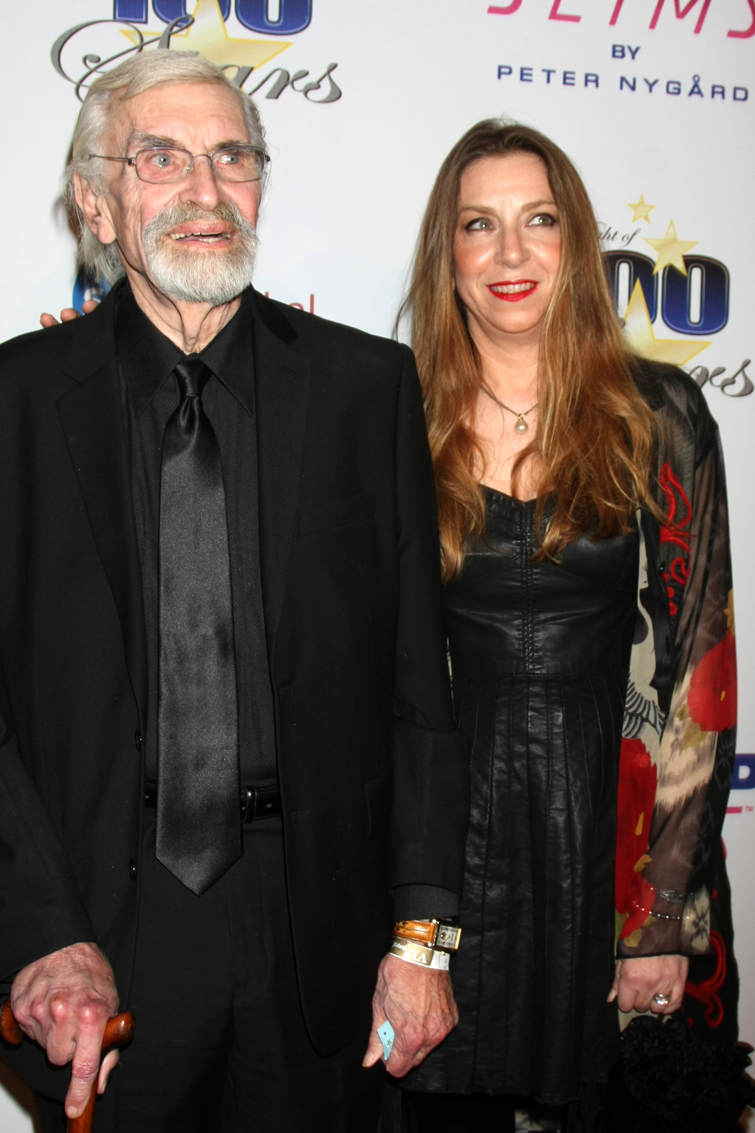 Norby Walters' Night 0f 100 Stars Oscar Viewing Party  Featuring: Martin Landau, daughter Where: Beverly Hills, California, United States When: 22 Feb 2015 Credit: Nicky Nelson/WENN.com