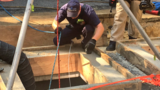 Firefighters rescue seriously injured construction worker who fell down manhole in DC