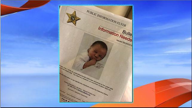 The PBSO shared a sketch{&amp;nbsp;} of what the baby girl found dead in the Boynton Beach Inlet may have looked like at birth. (PBSO)<p></p>