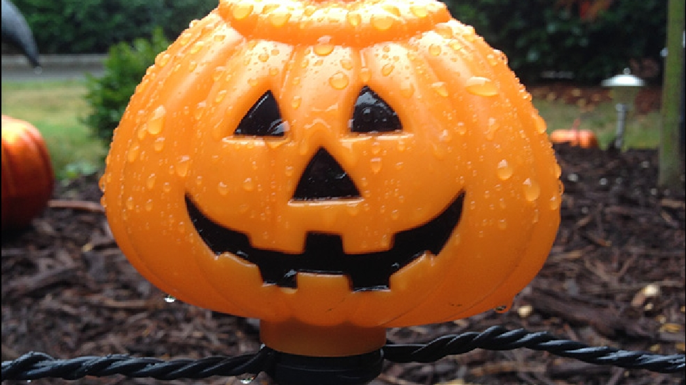 Trick or Treat? Seattle's total rainfall this year is where we should be on Halloween