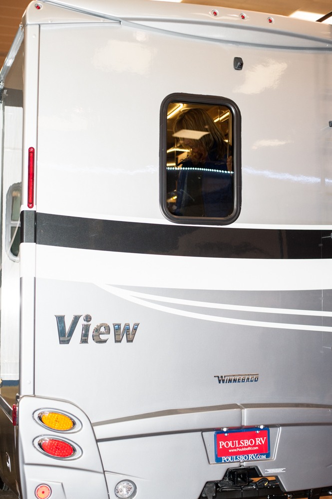 $122,995 - Poulsbo RV's 2019 Winnebago View 24D. The Tacoma RV Show is happening this weekend (Jan. 17-20) at the Tacoma Dome, with hundreds of RV's on display and more than 100 brands at the show. Since we are Seattle 'Refined' - you know we had to check out the most expensive, swankiest vehicles at the show! (Image: Elizabeth Crook / Seattle Refined)