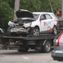 2 injured, 1 arrested in multi-car Cranston crash