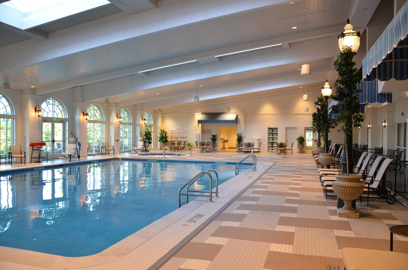 Indoor pool at Hotel Hershey (Hotel Hershey)