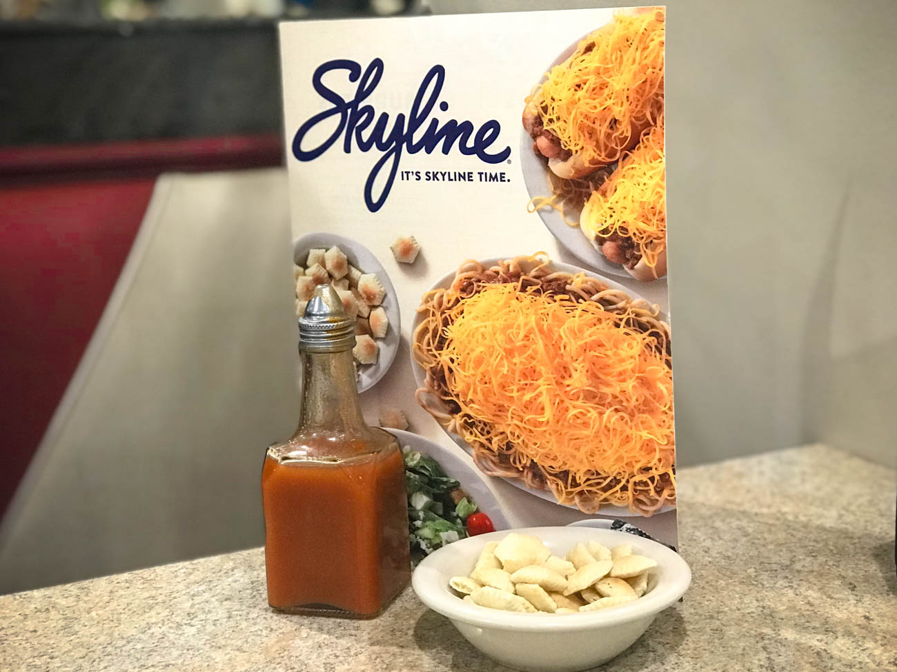 In the Horse Capital of the World you can make firecrackers (oyster crackers filled with hot sauce) before devouring Skyline Chili. / Image: Katie Robinson, Cincinnati Refined // Published: 11.18.18
