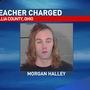 Court records: teacher faces sex charge against a student