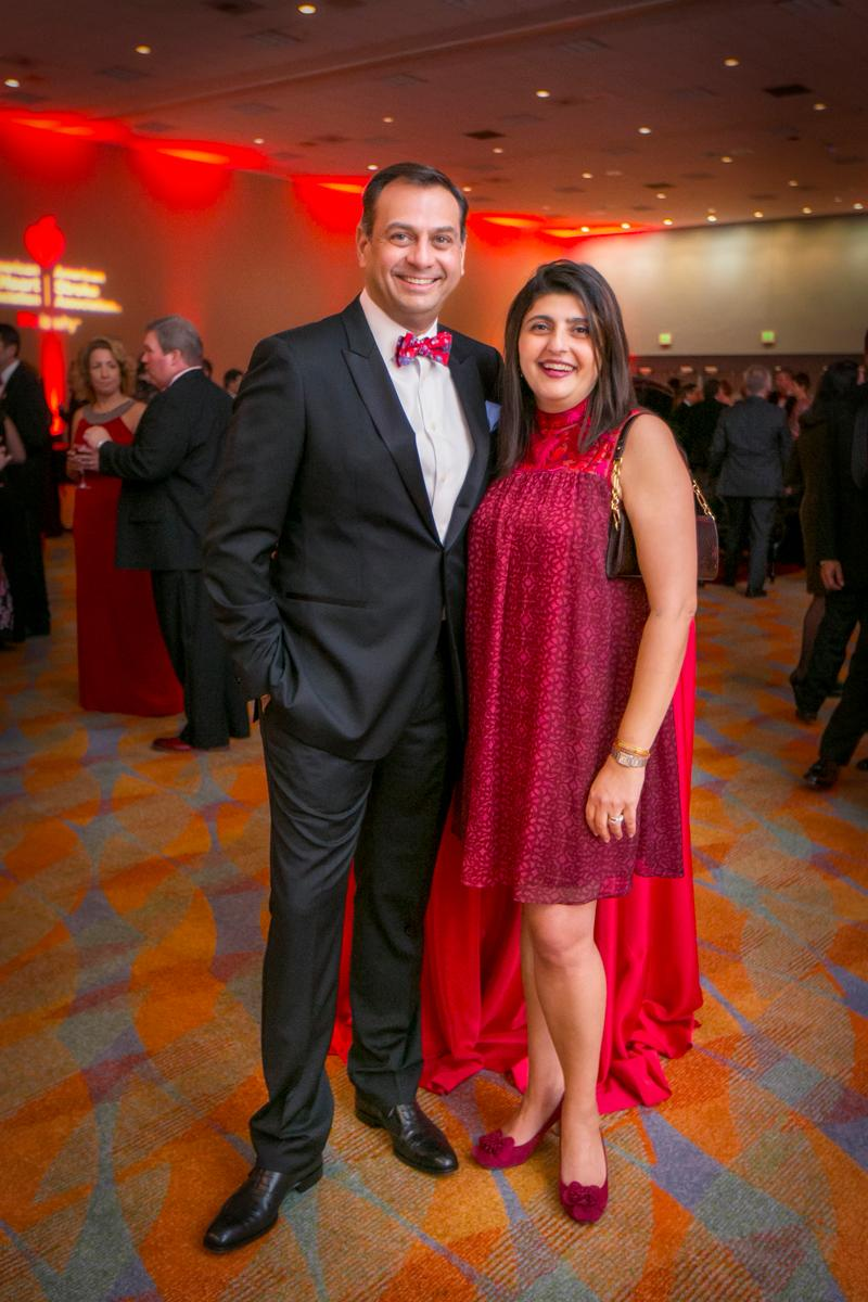 Pictured: Manish and Nudur Anand / Event: Heart Ball (Feb. 24) / Image: Mike Bresnen Photography // Published: 3.3.18