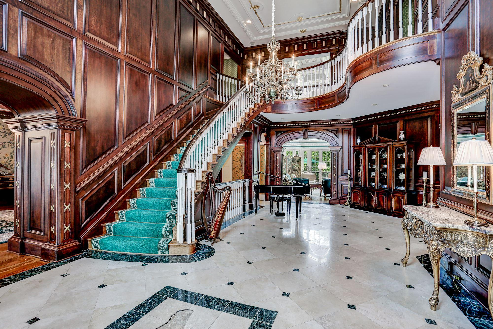 Foyer Luxury Zoo : A square foot georgian mansion just hit the market