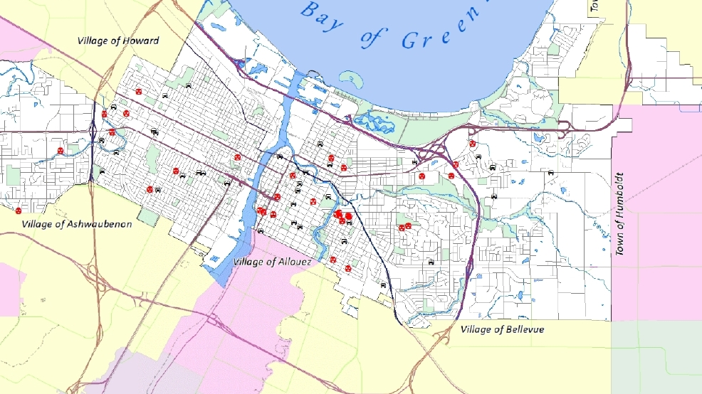 Green Bay police report pattern of burglaries thefts from vehicles