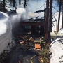Fire breaks out at 2-story home west of Truckee