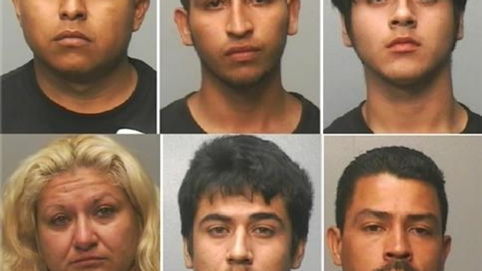 Group of six arrested for string of Brownsville auto ...