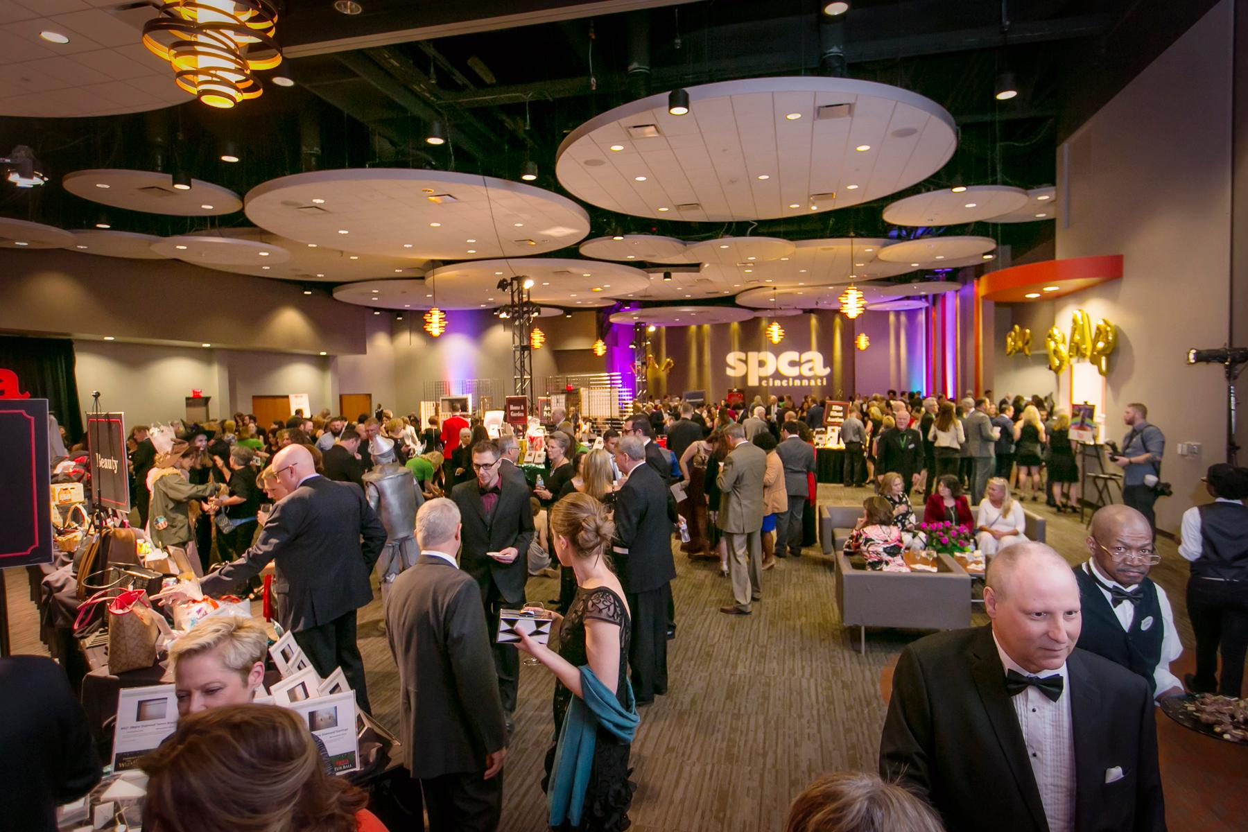 "The 2018 SPCA Fur Ball, with a clever theme of ""Emerald City & The Wizard of Paws"" took place on Saturday, April 28 at the Sharonville Convention Center. / Image: Mike Bresnen Photography // Published: 4.29.18"